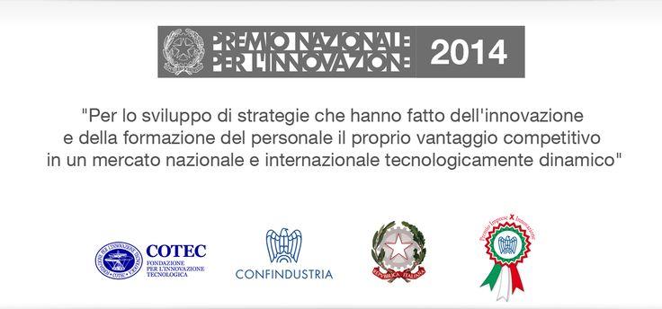 """Vetrya riceve il """"Premio dei Premi"""" il Premio Nazionale per l'Innovazione 2014"""