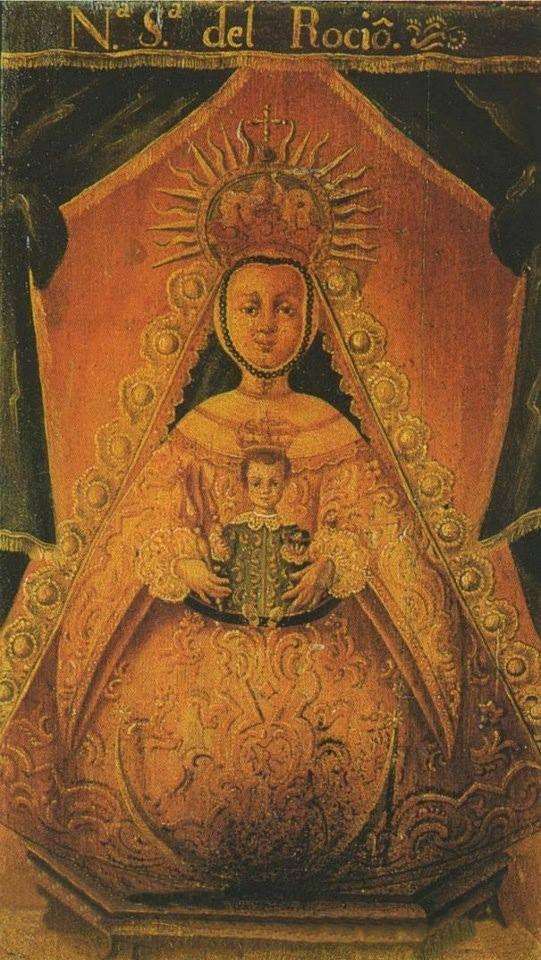 1679. Virgen del Rocio- Almonte Spagna- Nostra Signora della Rugiada