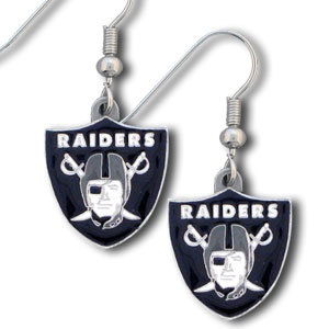NFL Football Oakland Raiders Fashion Dangle Earrings