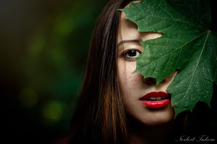 Leaf girl by Norbert Tukora on 500px