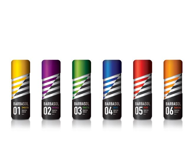 Barbasol Re-styling (Student Work) on Packaging of the World - Creative Package Design Gallery