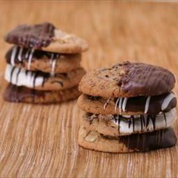 Chocolate Dipped Macadamia Nut Shortbread Cookies on BigOven