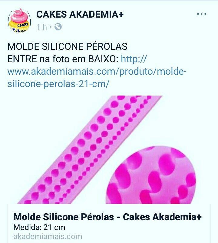 MOLDE SILICONE PÉROLAS ENTRE na foto em BAIXO: http://www.akademiamais.com/produto/molde-silicone-perolas-21-cm/