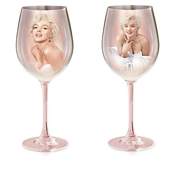 Marilyn Monroe Wine Glass