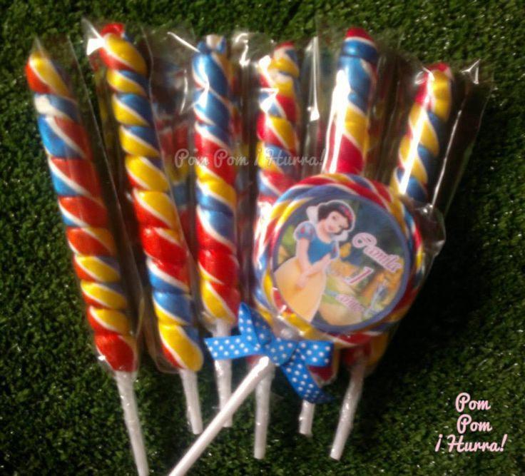Snow White / Blancanieves / Lollipop / Paletas