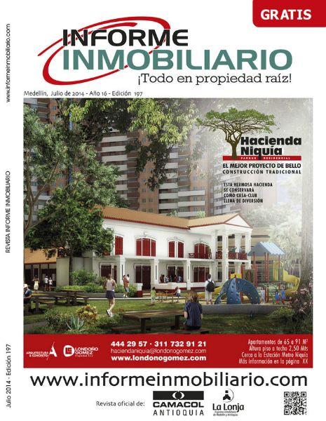 REVISTA INFORME INMOBILIARIO, EDICIÓN 197, JULIO DE 2014