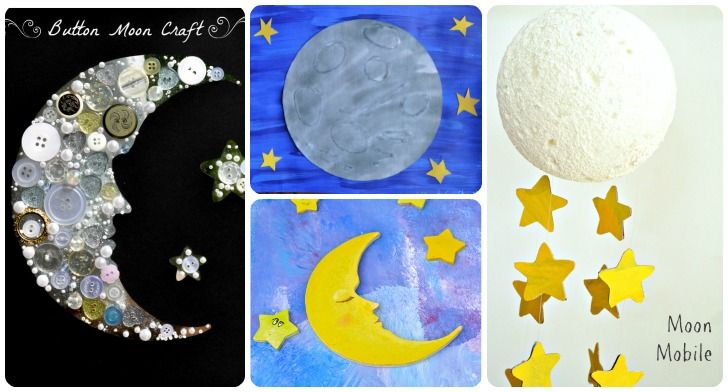 20 Space-Themed Crafts With Children