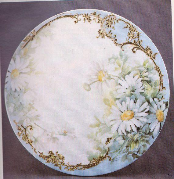Barbara Jensen Good As Gold China Plate by WonderlandShoppe