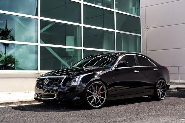 SuperCars Show • Exclusive Motoring Cadillac ATS on Vossen VFS1...