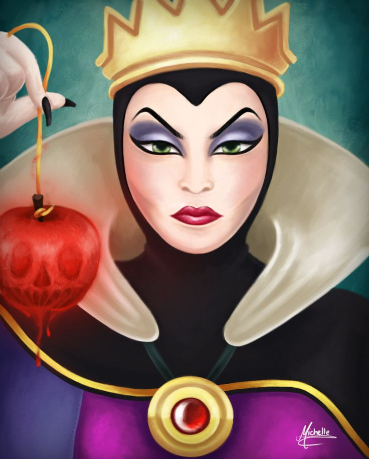 *EVIL QUEEN GRIMHILDE ~ Snow White and the Seven Dwarf's, 1937
