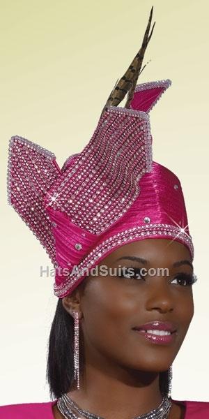Donna Vinci Couture Church Hat H1403