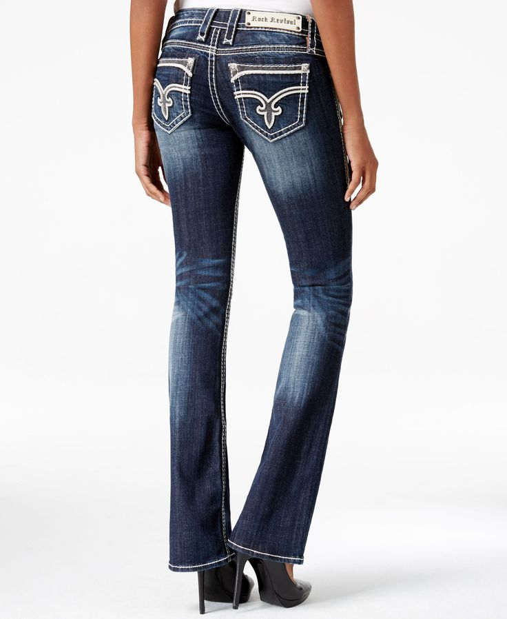 Slip into these bootcut jeans from Revival Jeans for a timelessly flattering look. So perfect day or night, they'll become a most-loved essential! | Cotton/elastane | Machine washable | Imported | Mid
