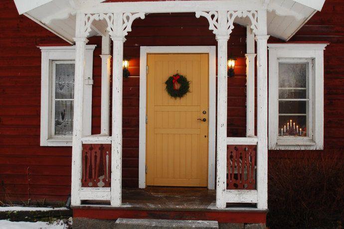 Yellow door! Balkong/uteplats - Sjutstorp, Österlen