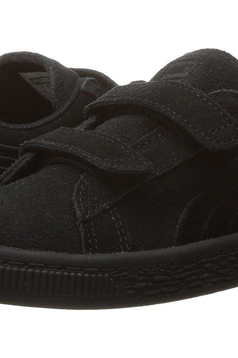 Puma Kids Suede Classic Badge V INF (Toddler) (Puma Black/Puma Black) Kids Shoes - Puma Kids, Suede Classic Badge V INF (Toddler), 36295301-001, Footwear Closed Hook and Loop, Hook and Loop, Closed Footwear, Footwear, Shoes, Gift, - Street Fashion And Style Ideas