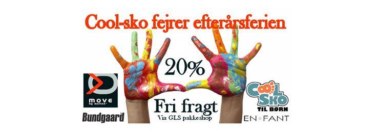 Cool Sko - gode tilbud - efterårsferien 2014