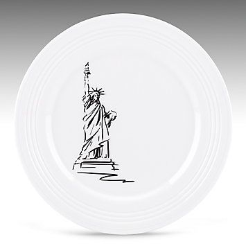 Tin Can Alley® New York Accent Plate by #Lenox