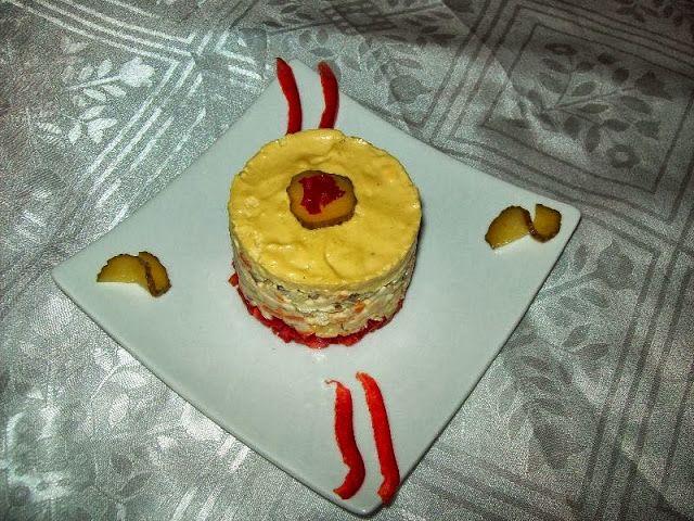 Dea's Cakes: Terina de salata de boeuf