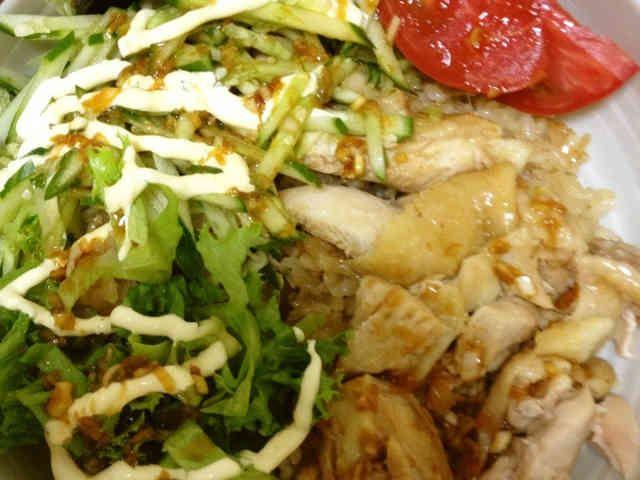 炊飯器で簡単!シンガポール チキンライスの画像