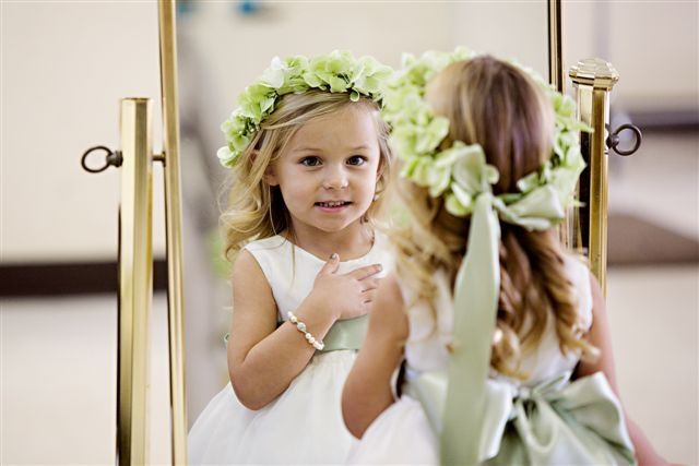 Every little flower girl wants something just like the big girls have.  We have Honora bracelets just for tiny wrists!