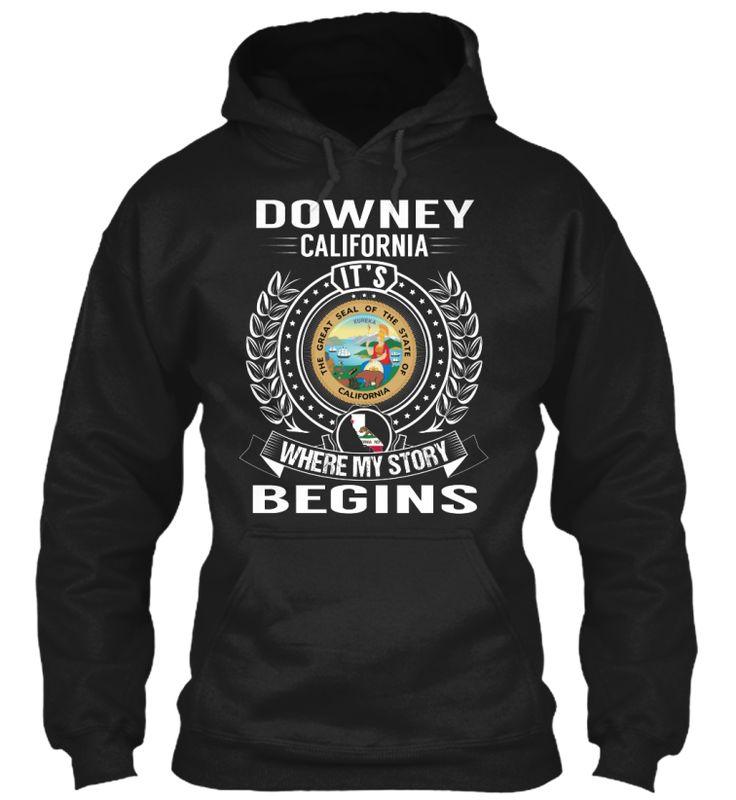 Downey, California - My Story Begins