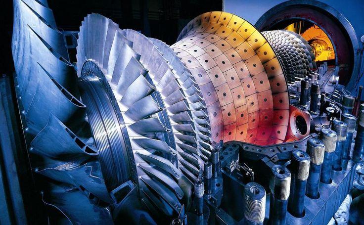 Siemens Gas Turbine HD Wallpaper Gas turbine, Turbine