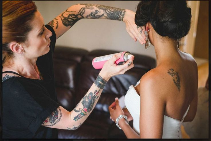 One of our WHAM Artists at work http://weddinghairandmakeupartists.com/gallery