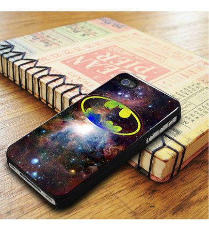 Batman Logo Galaxy Nebula iPhone 5|iPhone 5S Case