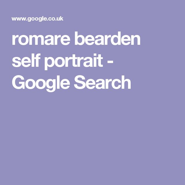Romare bearden portrait