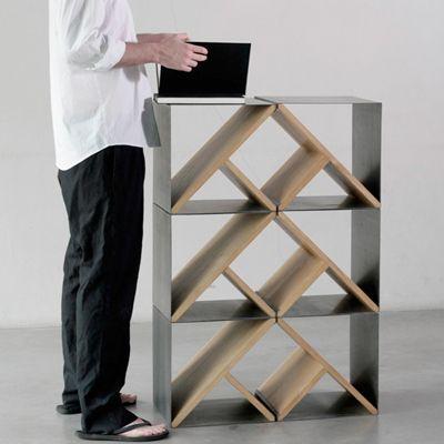 Steel Stool Prototype By Noon Studio,