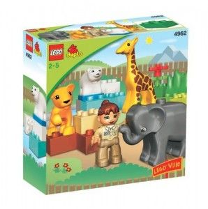 Amazon:  LEGO Duplo Ville Baby Zoo V70 (4962) for $7.49, down from $14.99!