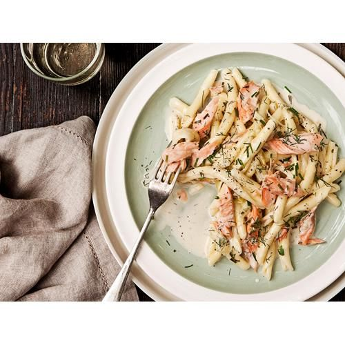 Smoked trout, lemon and chive pasta recipe - By Real Living