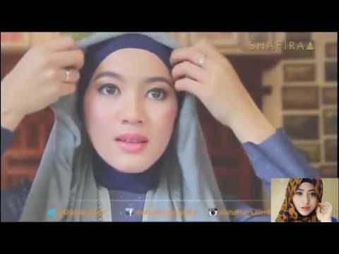 Tutorial Hijab-Style Secret With Alyssa Soebandono - Cara Berhijab Wanita Muslimah Trend Masa Kini