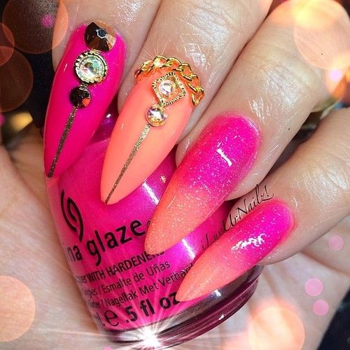 My Nails for the moment… They'll probably be changed...