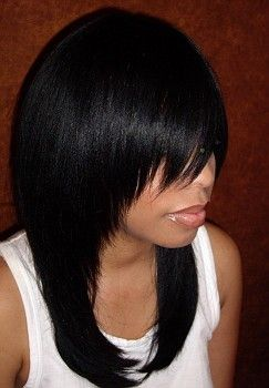 Full Head Weave Hair | ... full head weave without any of the client s hair out the hair style