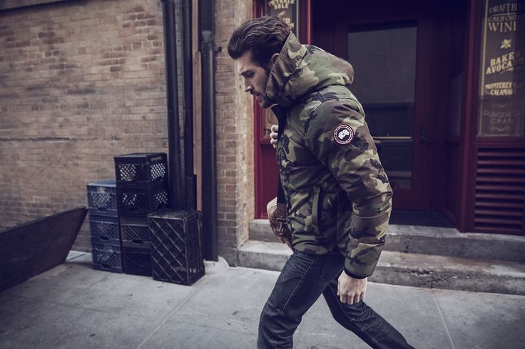 Canada Goose introduces MacMillan Parka in #camo for Fall/Winter 2015