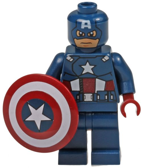 17 best images about lego 2012 marvel superheroes on pinterest lego aliens and lego marvel - Lego capitaine america ...