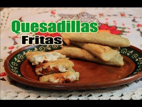 Quesadillas Fritas de Papa Y Chipotle