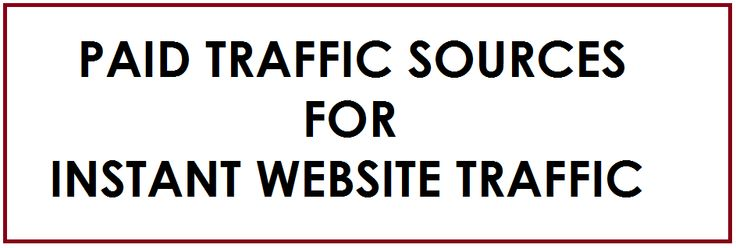 Paid Traffic Sources - Feature Image