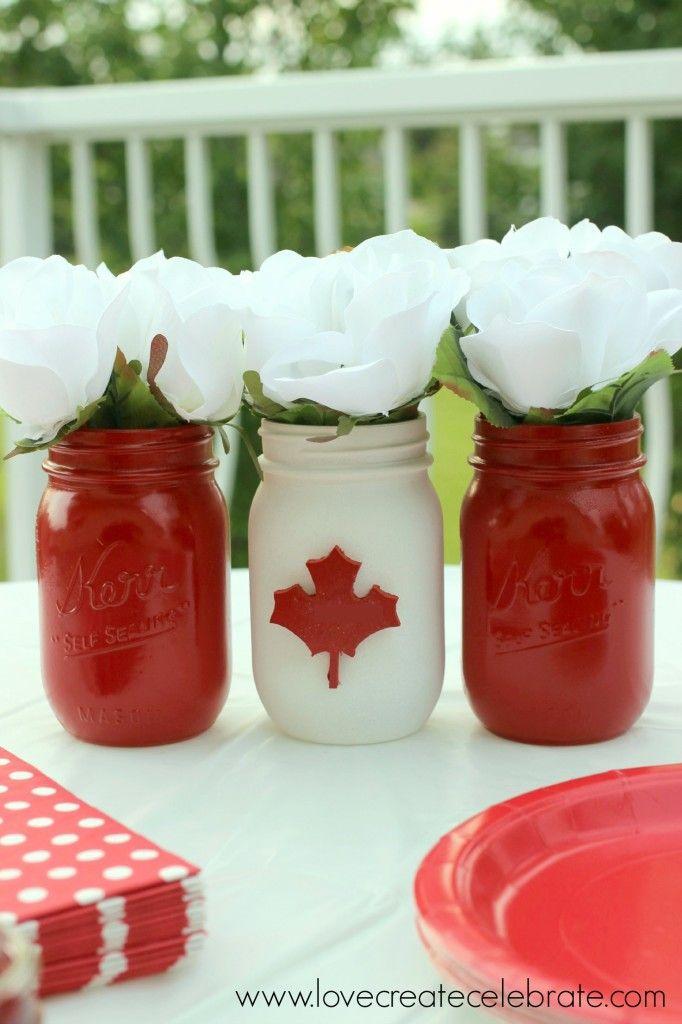 Canada Day Centerpiece