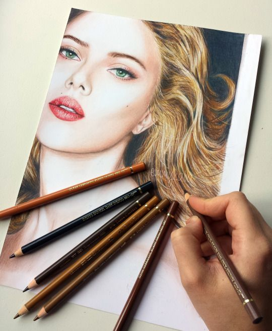 17 Best images about Emmy Kalia - Colored pencil drawings ... Emmy Kalia