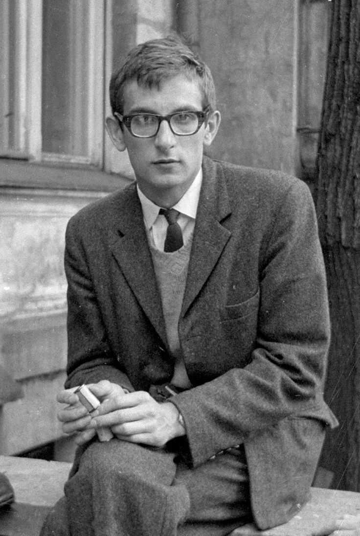 Krzysztof Kieslowski, one of the distinguished students of the Lodz Film School.