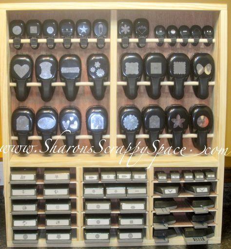 Scraproom: Universal Punch Storage Unit http://www.scrapbook.com/gallery/image/scraproom/3444023.html#