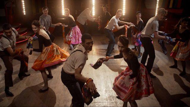 """Hermès Swinging Silk """"la danse du carré"""" by I COULD NEVER BE A DANCER. Event & digital film, Paris 2012"""
