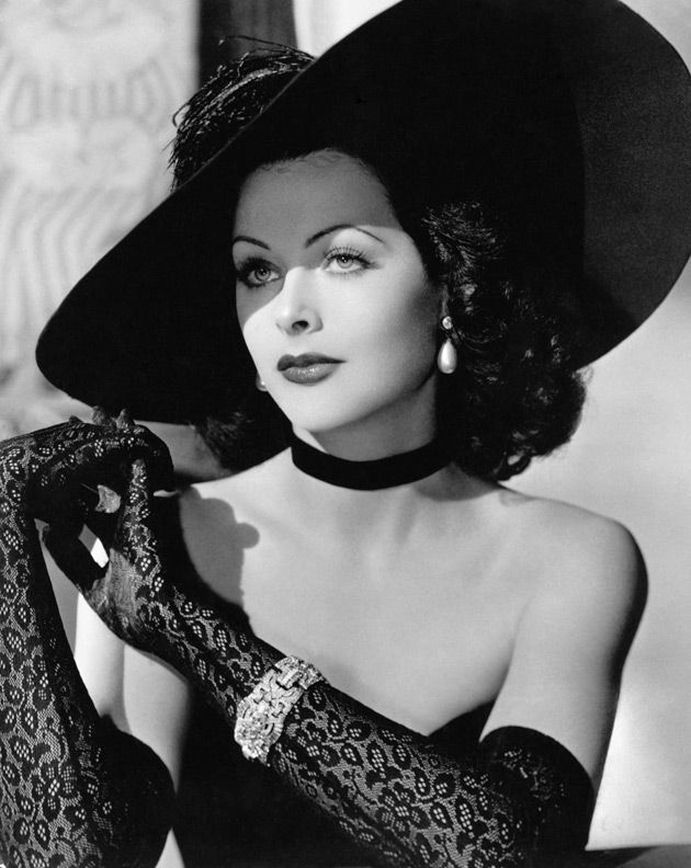 Hedy Lamar -- Old Hollywood Glamour