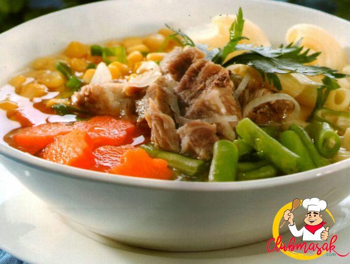 Resep Hidangan Lauk, Kambing Kuah Pedas, Club Masak