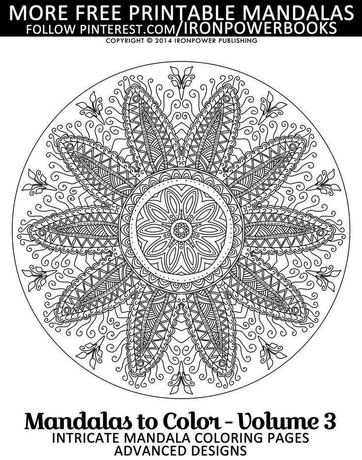 723 best images about Mandala Colouring