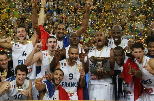 Go watch a game of France basketball NT during a major tournament