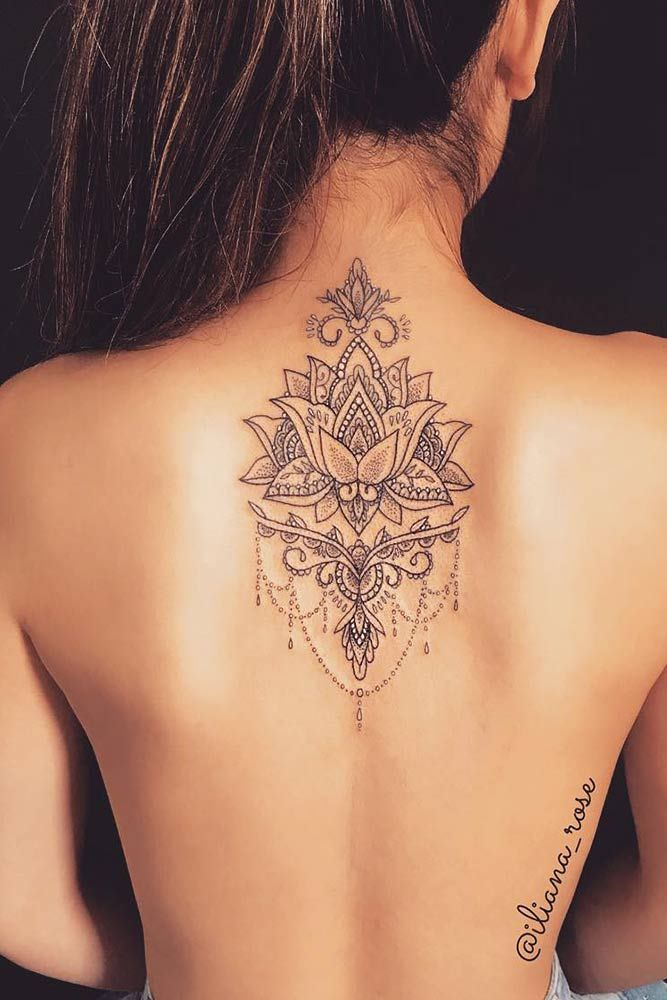 photo of a lotus flower tattoo