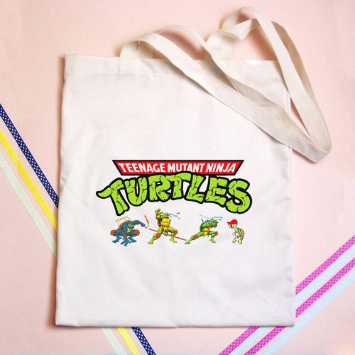 Teenage Mutant Ninja Turtles Tote bag $15.00 - GOGOLFNW.COM