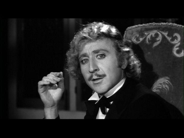 Gene Wilder as Dr. Frederick Frankenstein (that's frahnk-en-steen) in Young Frankenstein (1974). Possibly my favorite of all the Dr. Frankensteins!